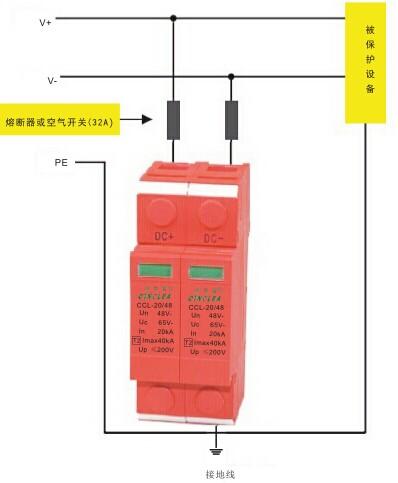 浙江信号防雷器ccl-直流电源防雷器